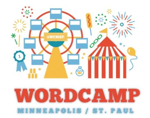 WordCamp Minneapolis 2018 Logo