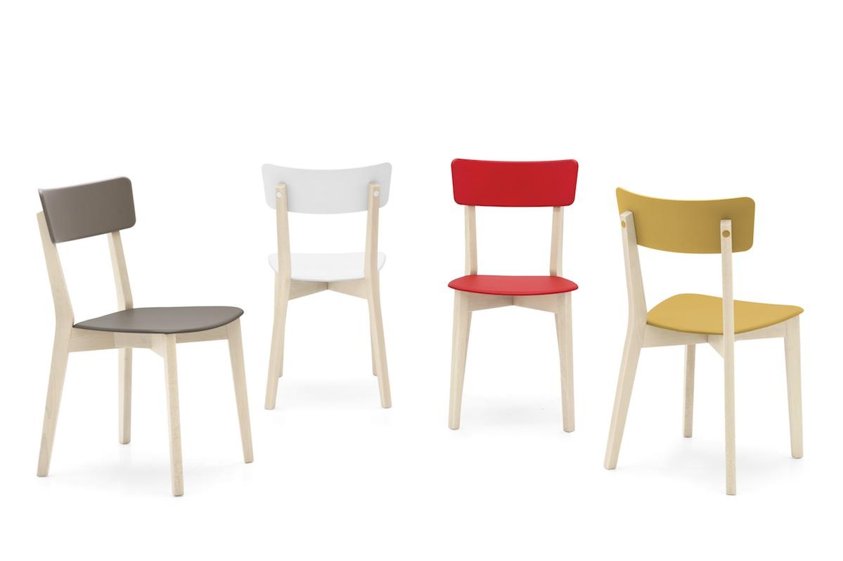 Sedia Jelly Connubia by Calligaris  linea tavoli e sedie