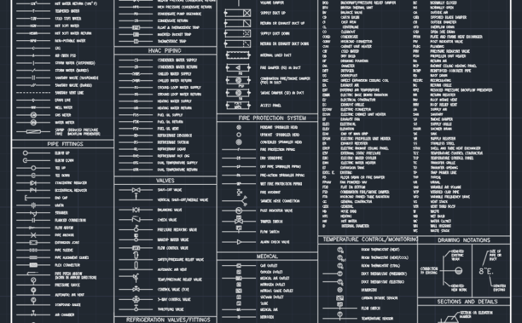 Plumbing Symbol Autocad Free Cad Block Symbols And Cad Drawing