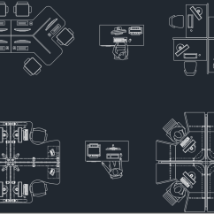 Office Chair Cad Block Black Dining Room Chairs Plan  Free Symbols And Drawing