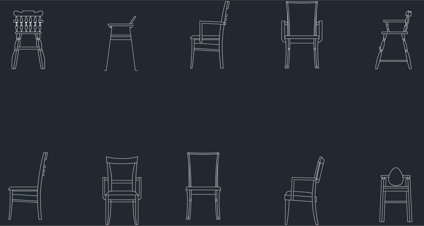 bedroom chair cad block backpack with cooler dining room free blocks and drawing