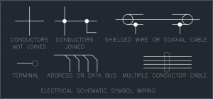 Electrical Schematic Symbol Wiring | | Free CAD Blocks And
