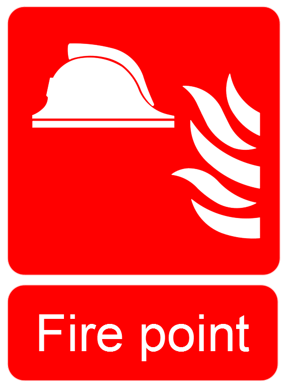 Fire Point Signs