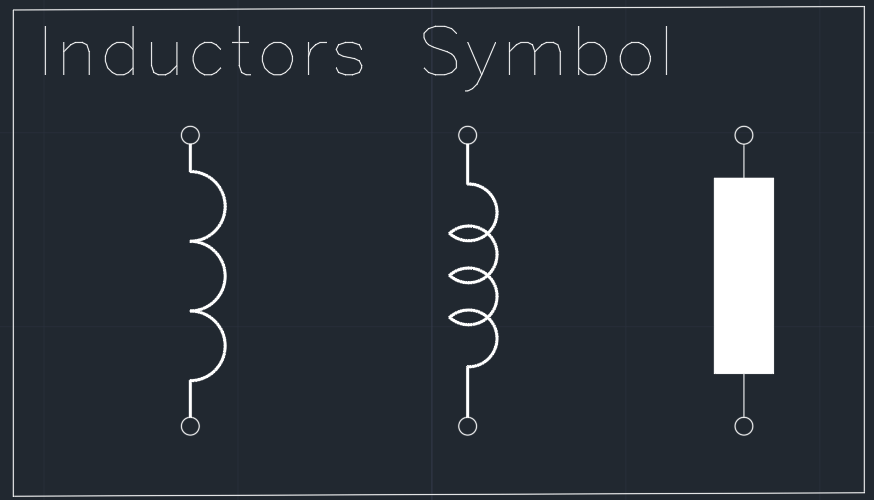 Inductor Schematic Symbol Circuit Schematic Symbols