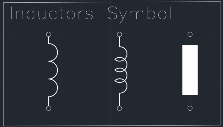 Inductors symbols