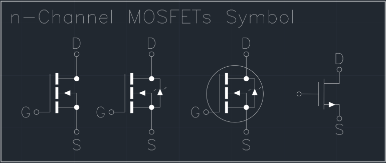 n-Channel MOSFETs Symbol