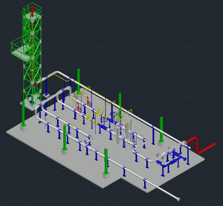 Gas Metering Station
