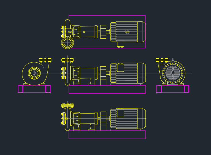 Booster Pumps Free Cad Block And Autocad Drawing