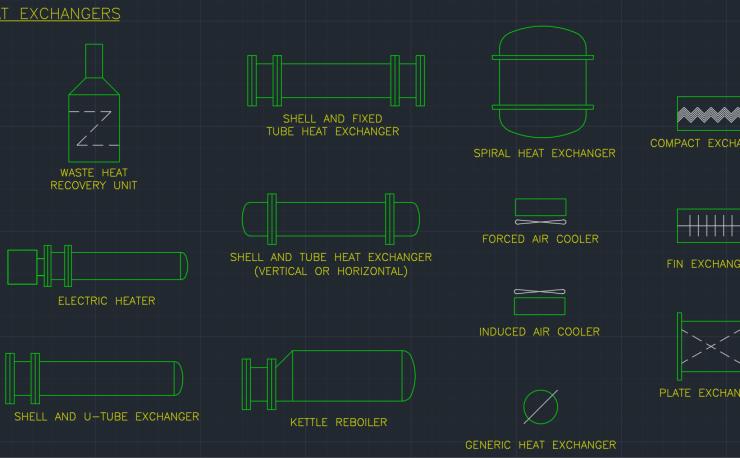 Mobile Air Compressor >> Process Equipment Symbols | | Free CAD Blocks And CAD Drawing