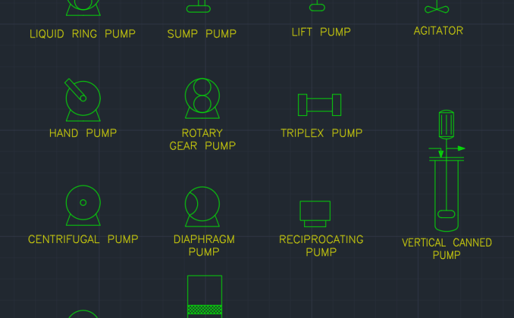 Process Equipment Symbols Autocad Free Cad Block