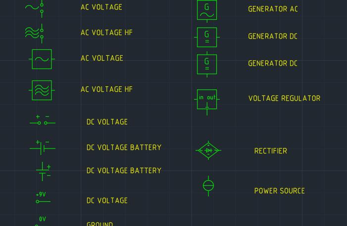Power Supply Symbol