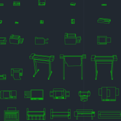 Office Chair Elevation Cad Block Tri Fold Lawn Printer Free Symbols And Drawing