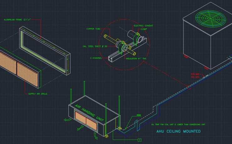 Ahu Autocad Free Cad Block Symbol And Cad Drawing