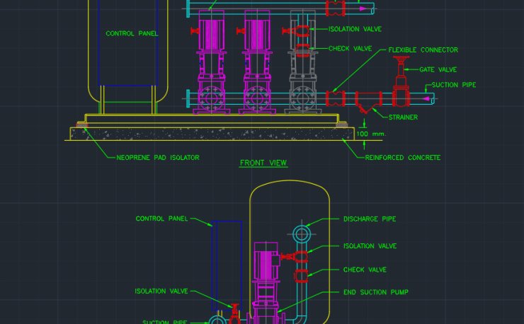 Check Valve Free Cad Block Symbols And Cad Drawing