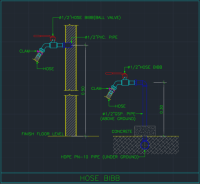 Hose Bibb | | Free CAD Blocks And CAD Drawing