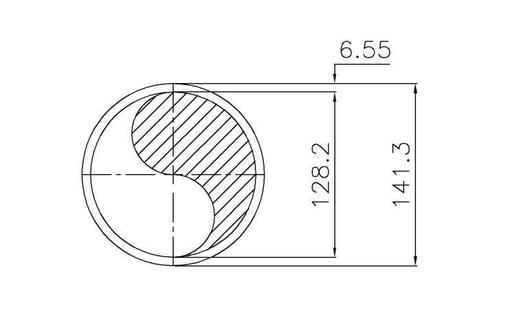 Schedule STD Pipe 5 Inch DN125