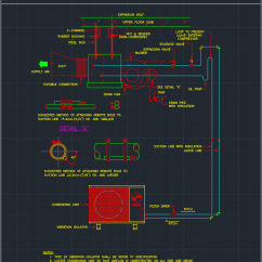 Split Type Aircon Wiring Diagram Msd 6al Lt1 Air Handler | Autocad Free Cad Block Symbol And Drawing