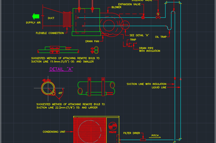 Air Handler Autocad Free Cad Block Symbol And Cad Drawing