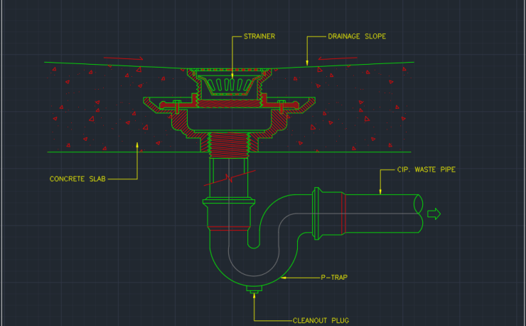 Pipe Fitting Cad Block And Typical Drawing For Designers