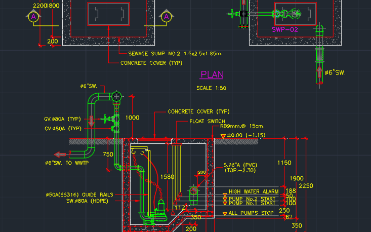 Plumbing Autocad Free Cad Block Symbols And Cad Drawing Part 5