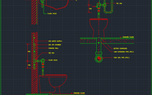 Bathtub And Accessories | | Free CAD Blocks And CAD Drawing