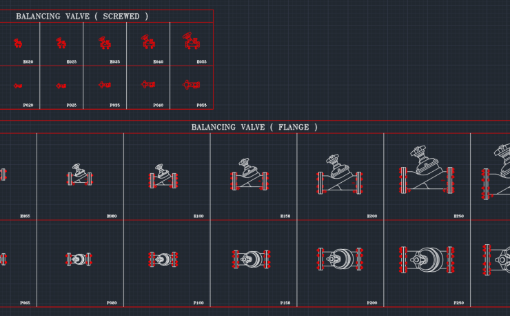 Flow Control Valve Autocad Free Cad Block Symbol And Cad Drawing