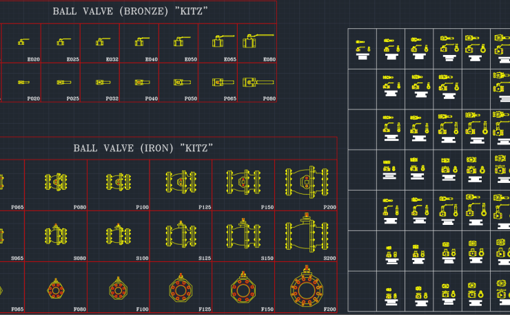 Valve Symbols Cad Block And Typical Drawing For Designers