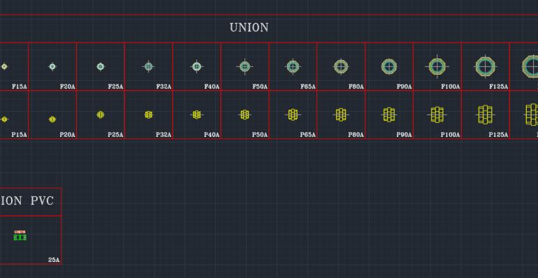 Copper Union And Steel Pipe Union