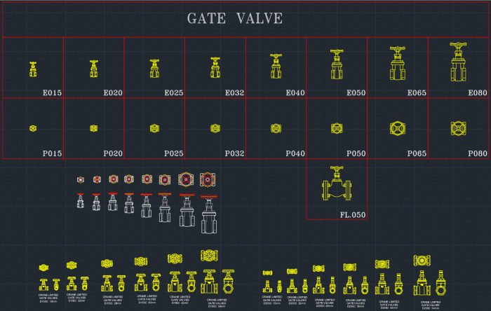 Gate Valve Autocad Free Cad Block Symbol And Cad Drawing