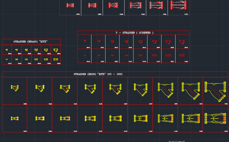 Residential Front Elevation Images : Strainer free cad blocks and drawing
