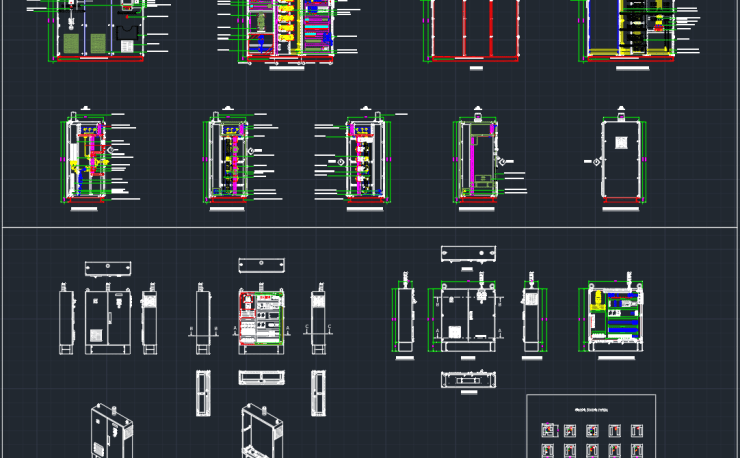 Electrical Cad Block And Typical Drawing For Designers