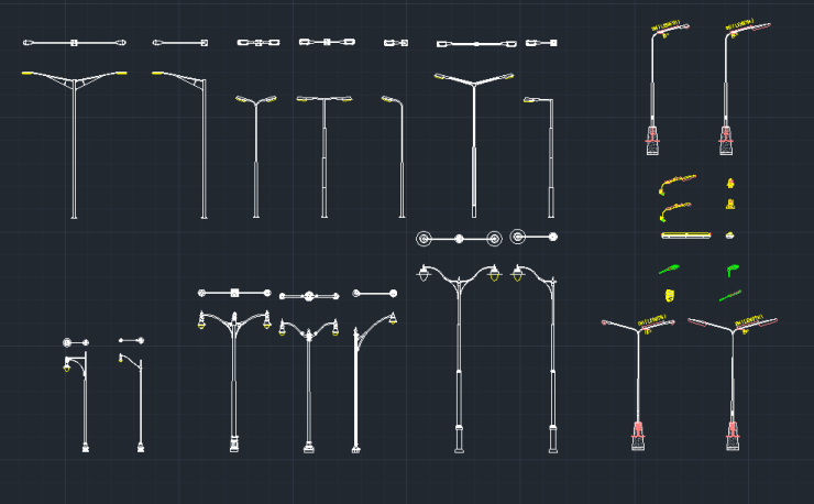 CAD Block And Typical Drawing For Designers