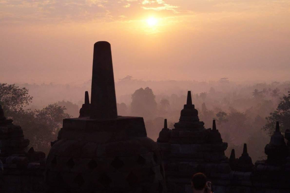 Borobudur, Java - Indonesië
