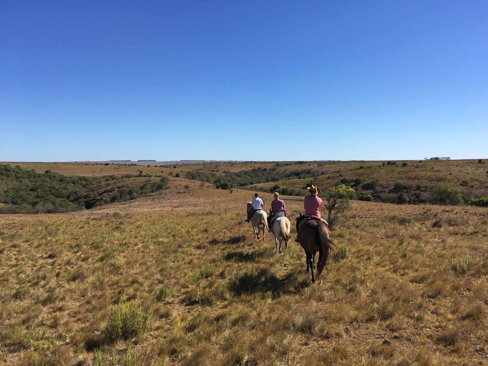 Paardrijden in Uruguay