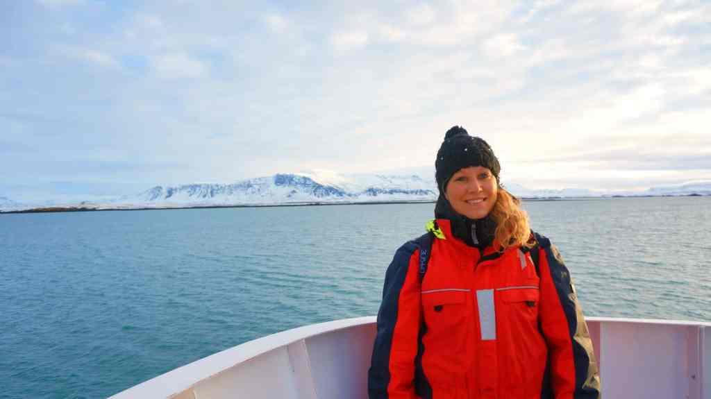 Walvis spotten in IJsland