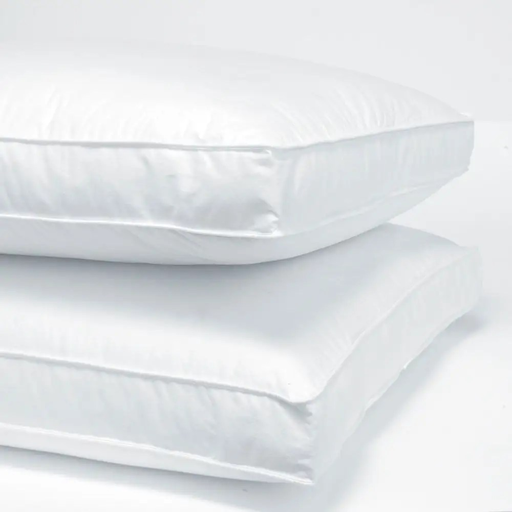 three layer gusset pillow