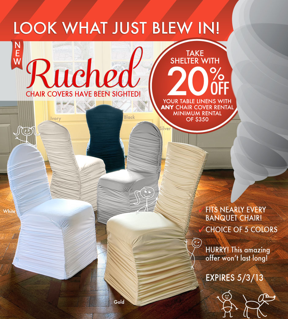 chair covers for you baby bouncy asda ruched edeals from linenhero com linen hero look what just blew in new