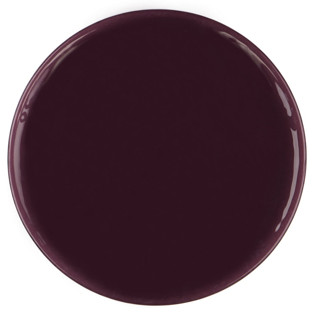 Purple Modern Glass Charger Plate by Chair Covers  Linens