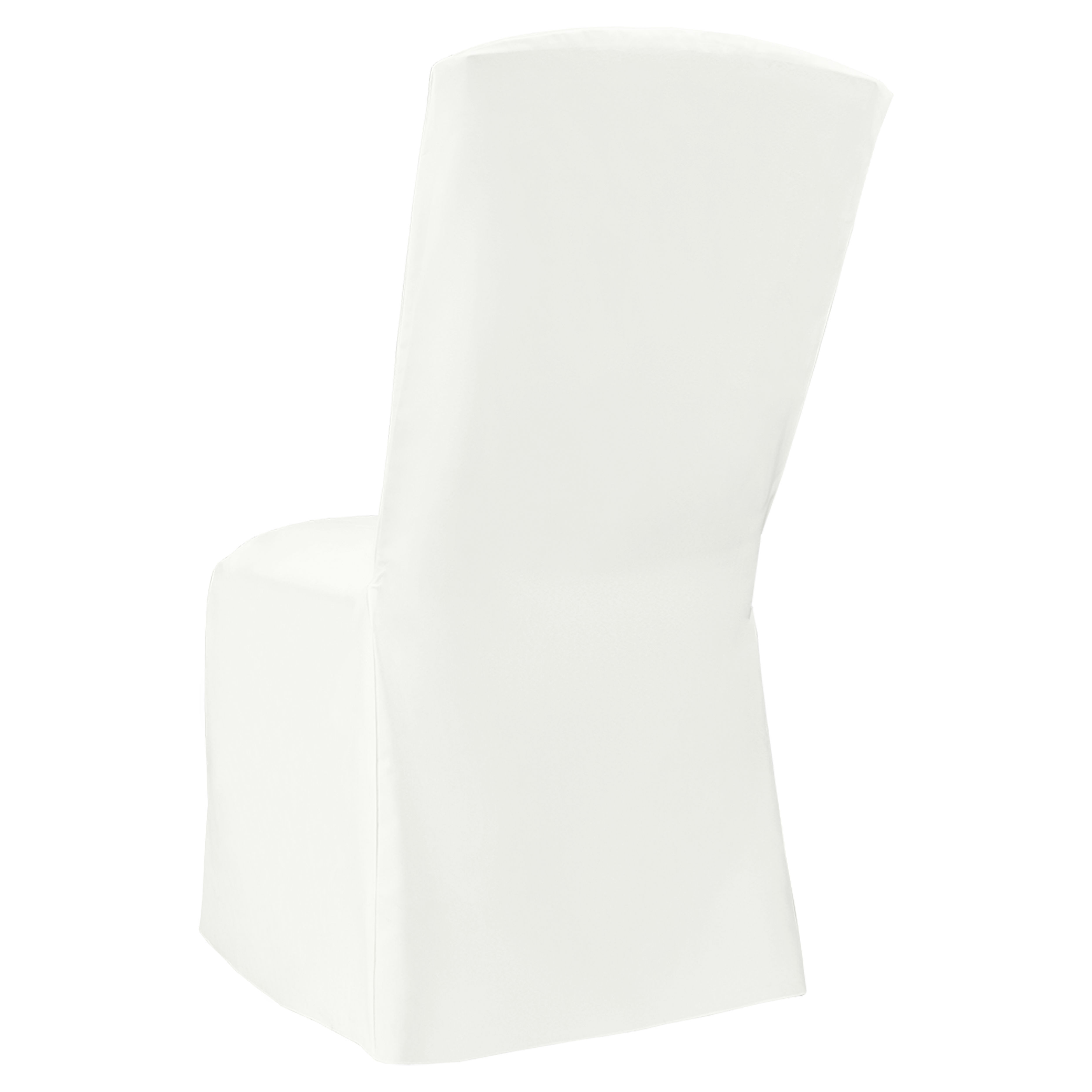 chair covers linen cane dining room chairs white classic banquet square cover by