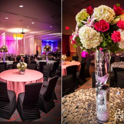 Black Ruched Chair Covers Costco Lounge Chairs Best Prom Ever At Motor City Casino With Top That! Event - Linen Hero
