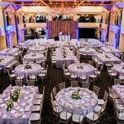 Banquet Hall Chair Covers Party Canada International Center Atheneum Hotel Wedding + Reception Flip - Linen Hero