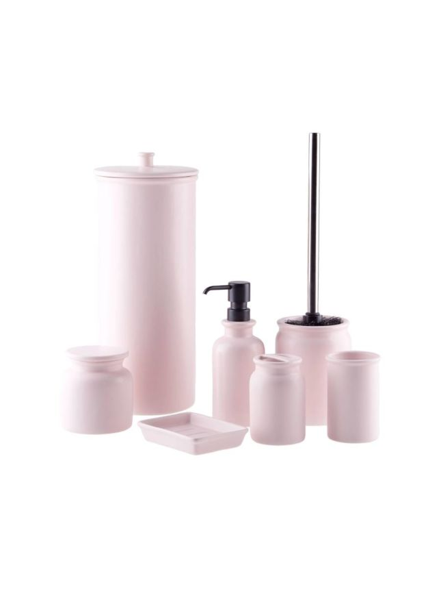 Marino Soft Pink Bathroom Collection