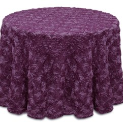 Banquet Chair Covers Wholesale Minnie Mouse Bean Bag Kmart Rose Satin Round Tablecloths