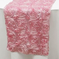 Chair Covers And Table Linens Wholesale Wheel For Sale Rose Satin Runners