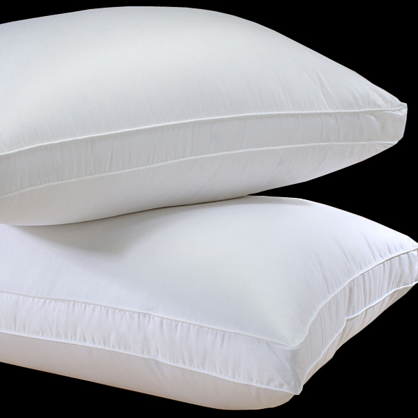 Himalaya Gusseted Pillow Pillows by Down Right  Linenplace