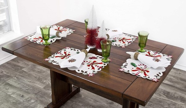 small changes can make a big impact on a home using placemats