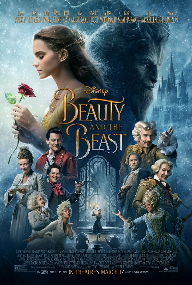 Beauty and the Beast poster - Sweepstakes