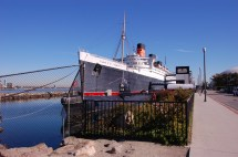 Rms Queen Mary Hotel & Museum Retired Cunard Ocean Liner