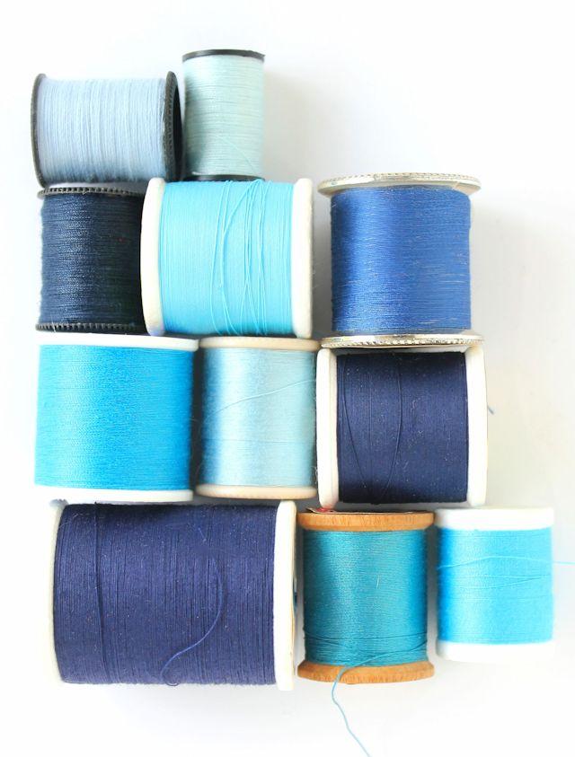 5 - blue thread #lacolorstudies