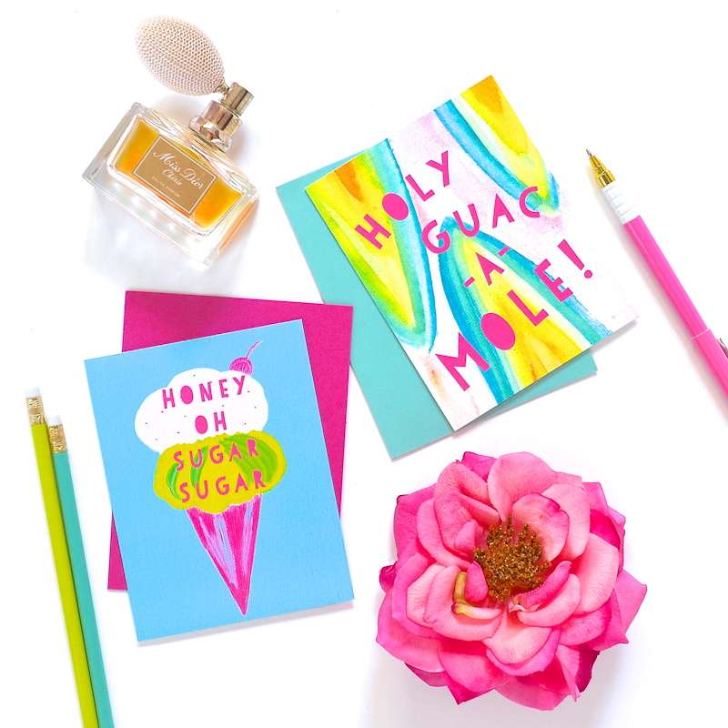 DIY Scented Stationary